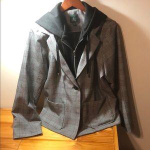 Wild Fable Blazer Hoodie Jacket